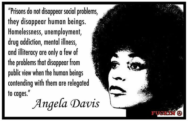 angela davis prison quote