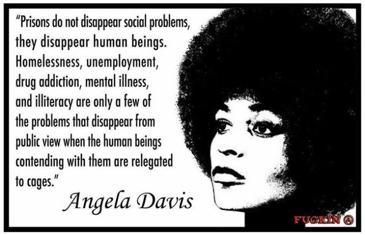 angela davis prison quote